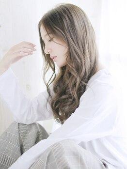ズール 新城店(ZU LU)の写真/デザインしながら色味を入れることで、立体的で透明感のある艶髪に!深みのある色味でより美しく・・・