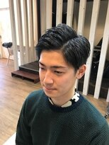 【hair design lotta】スーツも似合う刈り上げショート