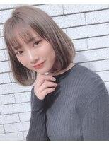 ルージュ(Rouge)【米倉和寿】ワンカールパーマ 大人気スタイル0203