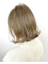 ソース ヘア アトリエ 京橋(Source hair atelier)【SOURCE】ミルクブラウン