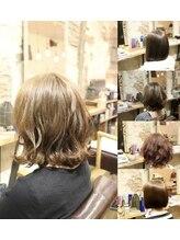 ムニ(Muni)BS #Muni hair×ボブスタイル