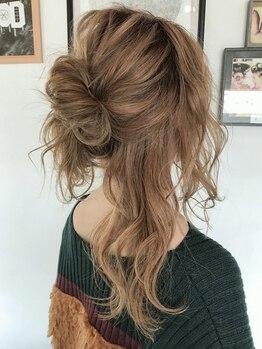 ルーナ ヘアラウンジ(Luuna hair lounge)の写真/少しだけニュアンスを変える♪前髪とサイドの計算されたデザインで「小顔+ヌケ感」叶えます☆