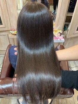 アンベリール(Embellir)の写真/『傷みに本気で向き合いたい方は来て下さい』 美髪☆髪質改善ヘアエステ♪美と髪をテーマに髪を美しく◇