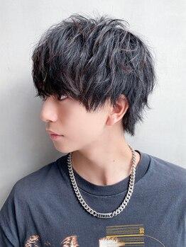アルバムギンザ(ALBUM GINZA)の写真/【メンズカット¥3700~】銀座駅30秒!ON・OFF対応の2wayモテヘアに☆