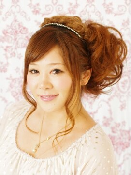 ビューティーサロン ナゴミ 渋谷店(Beauty Salon nagomi)【SWEETふわふわサイドアップ】nagomi