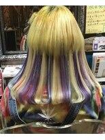 ロコマーケット 下北沢店(hair meke Deco.Tokyo)クラゲヘアー