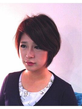 ヘアーカーブ(haircarve)haircarve秋冬・ダージリンカラー・ボブ