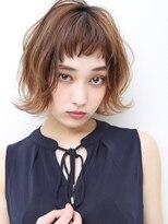 グラデーションカラー小顔ワンサイドショートイワサキカツヤ1300
