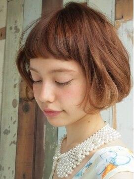 フレンチボブ ナヌーク 渋谷店Mariana×ふんわりフレンチボブ×あどけなさ