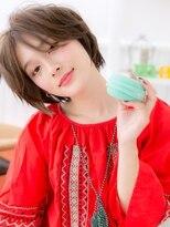 マカロン 郡山富田店(macaron)【macaron】アンニュイラフショート