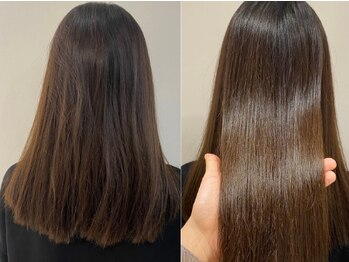 ノイル(noir)の写真/クセ&髪質に合わせた最適なトリートメントで紫外線によるダメージにも負けない髪に★髪質改善専門店◇