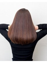 ムード 金沢文庫 hairdesign&clinic mu;d髪質再生ロングスタイル