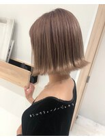 ラノバイヘアー(Lano by HAIR)【l銀座1丁目】セシルカットココアブラウン
