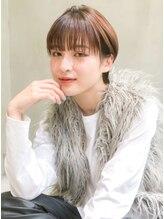 ケイト(kate)【kate】大宮☆ ミニマムショート×ラテベージュ×ウェットヘア