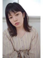 【MODE K's Lien】とろみ☆グレージュ☆大人可愛い