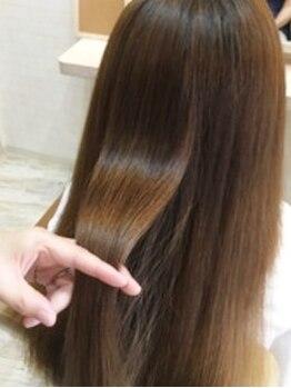 ガビーヘアルーブ(gabi hair LOOB)の写真/【最新ケア☆ホリスティックトリートメント導入】タンパク質を復元させ、大満足な理想のツヤ髪に…◎