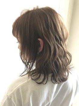 ヘアーメイクグレース 松山インター店(HAIR MAKE GRACE)の写真/本物思考の方へ。最旬のAVEDA導入サロン。最高級オーガニックカラーで叶えるツヤと滑らかな手触り