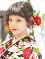 ボブルーズアレンジセット★和装・着物・振袖・袴・成人式卒業式