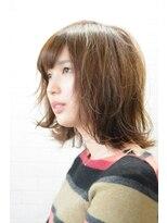 アトリエ ドングリ(Atelier Donguri)『髪質改善』pink beige × airy bob
