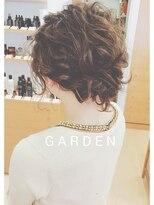 ガーデンヘアー(Garden hair)[GARDEN松岡]ゆるふわアンティークアレンジ