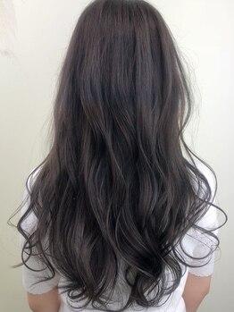 ヘアーメイク Y-21 久地店(HAIR MAKE Y-21)の写真/【艶・色味・ダメージレス】どれをとってもトップレベルの技術力☆オーガニックカラーでより輝く女性へ♪