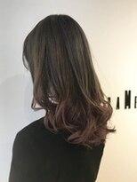 フレイムスヘアデザイン(FRAMES hair design)春カラー!ハイグレージュ×グラデーションピンク♪
