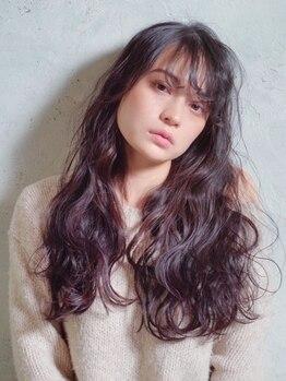 メグヘアークリエーション 鶴見店(mEg hair creation)の写真/【OPEN1周年!】人気急上昇のオイル(イノア)カラーで眩しい程のツヤ髪に!大人女性の持つ魅力を引き出す◎