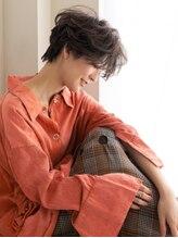 ヘアアンドエステ ヒロイン 西麻布本店(Hair&Esthe HIROIN)『HIROIN西麻布本店』横顔美人のハンサムショート