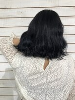 ビーヘアサロン(Beee hair salon)ブルーブラック