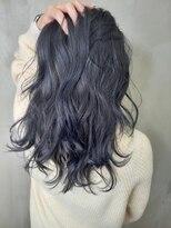 ソース ヘア アトリエ 京橋(Source hair atelier)【SOURCE】ネイビーブルー