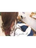 ヘアーガーデン シュシュ(hair garden chou chou)キュート系インナーデザインカラー♪