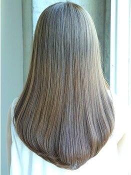 ビクトヘアー(Vict hair)の写真/【練馬】当店は大人気《オッジィオットoggi otto》を採用♪自然由来で作られた髪に優しいトリートメント★