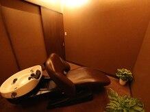 ヘアー リシェーツ(Hair Richearts)の雰囲気(個室で受けるプライベートヘッドスパ。贅沢気分でリフレッシュ♪)