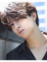 リップスヘアー 銀座(LIPPS hair)韓流ニュアンスハンサムパーマショート