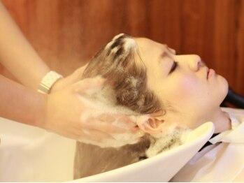 ヘアアンドメイク アーク(Hair & Make Aarc)の写真/ワンランク上の極上癒しメニューが登場★ 髪と頭皮を正常な状態へ導いてくれる≪ヘアキュア≫