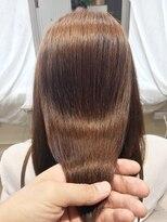 ブレスヘアーデザイン(BLESS HAIR DESIGN)美革ストレート(縮毛矯正)×上質なツヤ髪