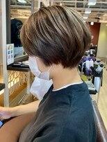 フレア ヘア サロン(FLEAR hair salon)ショートボブ_大人かわいい_ショートマッシュ