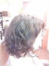 ヘアメイク ビス(Hair Make Bis.)大人のセミロングパーマスタイル