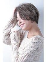 キュリオ 尾山台(curio)【curio尾山台】  モード3Dカラー × ミニマム大人ボブ