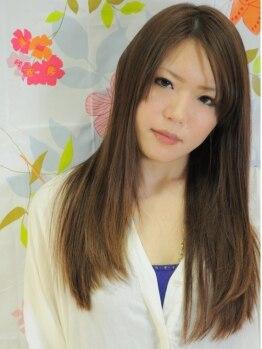 ナナ(nana+)の写真/★花園★とにかく違いが実感できる♪超サラサラ&ダメージレスなこだわりの劇的プレミアム縮毛矯正☆☆
