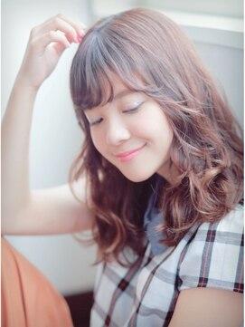 ヘアアンドメイク エジェリ(hair&make egerie)小顔♪ふんわりミディ3