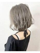 ソース ヘア アトリエ 京橋(Source hair atelier)【SOURCE 】プラチナブロンド
