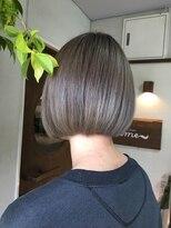 ヘアーメイク プリュム(Hair make Plume)Wカラー・グレー系
