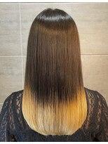 ナナナパレナ 心斎橋店(nanana parena)こだわりの縮毛矯正で髪質改善艶髪ストレート♪