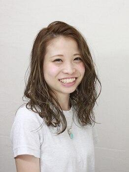ヘアーメイク シャンプー(hair make shampoo)の写真/人気の髪色からグレイカラーまで…全員クーポンでいつでもお得!なので通いやすい◎いつもきれいな髪色を♪