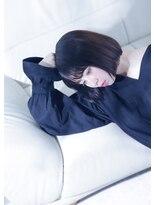 オゥルージュ(Au-rouge noma)【aurouge noma 柳瀬香里】暗髪◎切りっぱなしナチュラルボブ