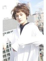 レンジシアオヤマ(RENJISHI AOYAMA)くせ毛風クラシカルショート【池田 涼平】