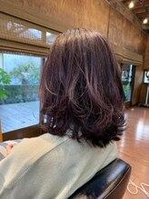 ソール ヘアーメイク(So ALL Hair Make)切りっぱなし外ハネロブ
