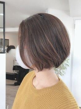 ヘアープロデュースルアナ(Hair Produce Luana)の写真/大人ショートはLuanaへ♪経験豊富な女性stylistが360度美しいシルエットに☆【春日/半個室】