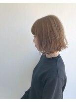 ヘアメイク オブジェ(hair make objet)ハイトーン ミニボブ☆★KAI☆★